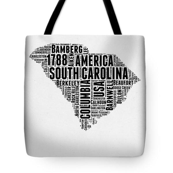 South Carolina Word Cloud 1 Tote Bag