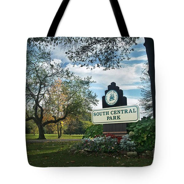 South Central Park - Autumn Tote Bag