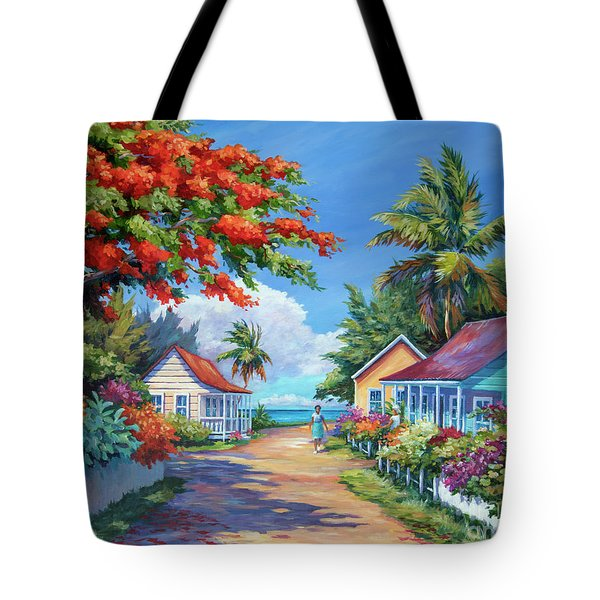 South Church Street Tote Bag