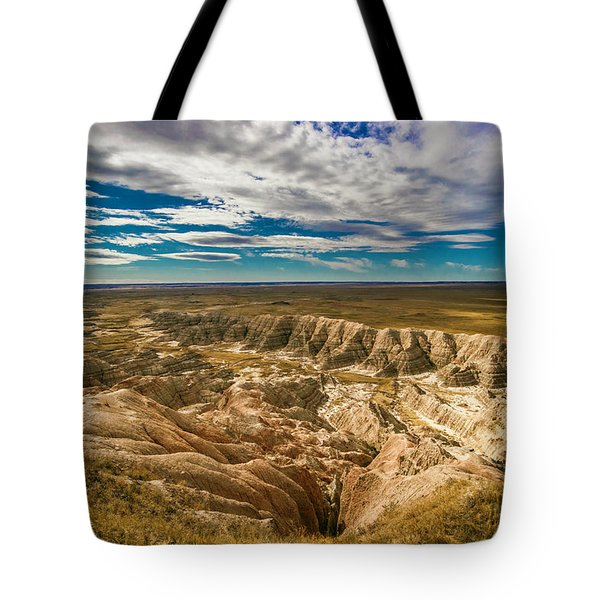 South Dakota Bad Lands.... Tote Bag