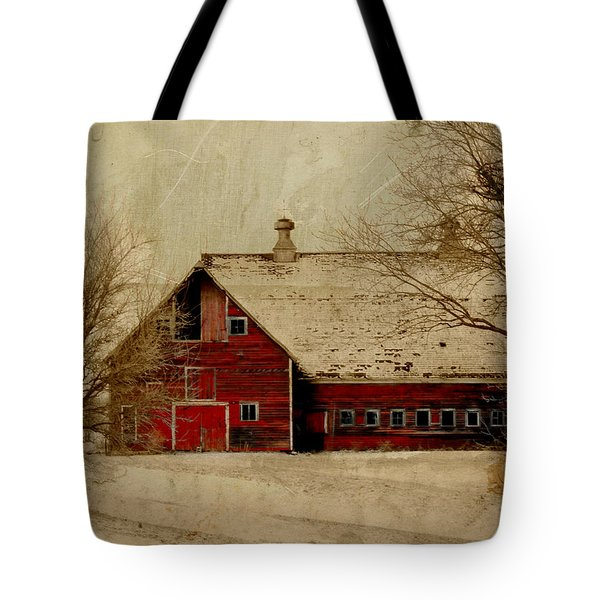 South Dakota Barn Tote Bag