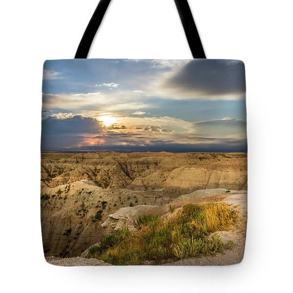 South Dakota Sunrise Tote Bag