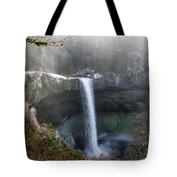 South Falls Shroud Tote Bag