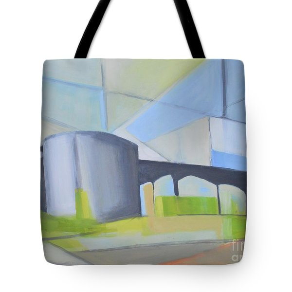 South Hackensack Tanks Tote Bag by Ron Erickson
