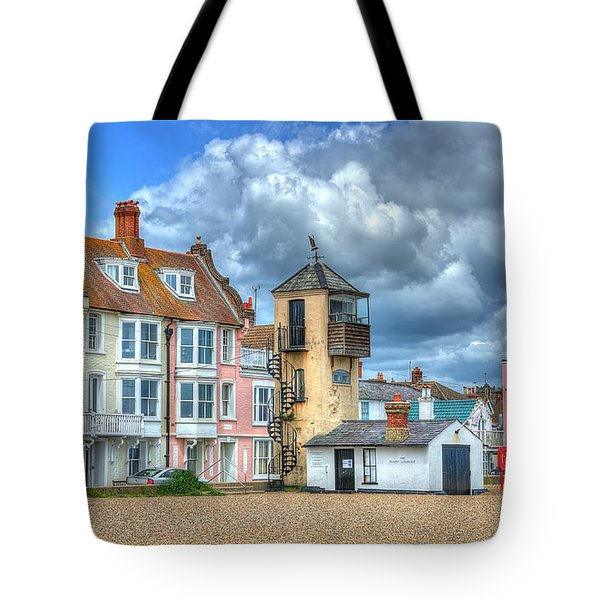 South Lookout Tower Aldeburgh Tote Bag