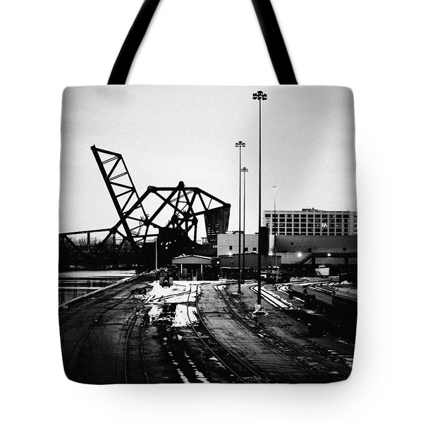 South Loop Railroad Bridge Tote Bag