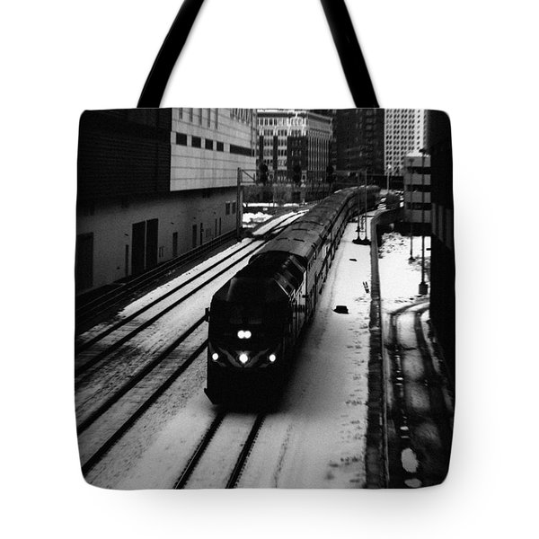 South Loop Railroad Tote Bag