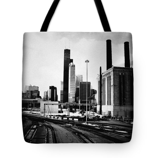 South Loop Railroad Yard Tote Bag