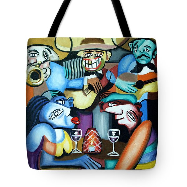 South Of The Boarder Tote Bag by Anthony Falbo