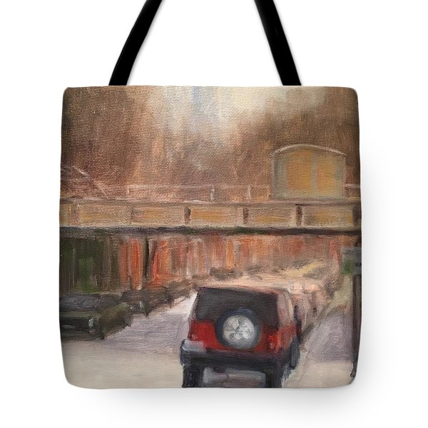 South On North Tote Bag