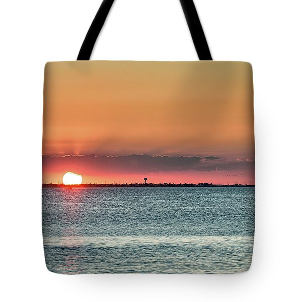 South Padre Island Sunset Tote Bag