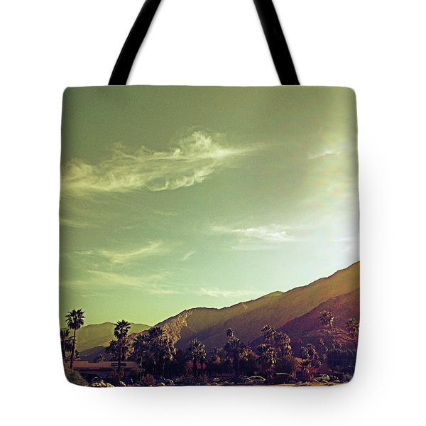 South Palm Springs California Tote Bag