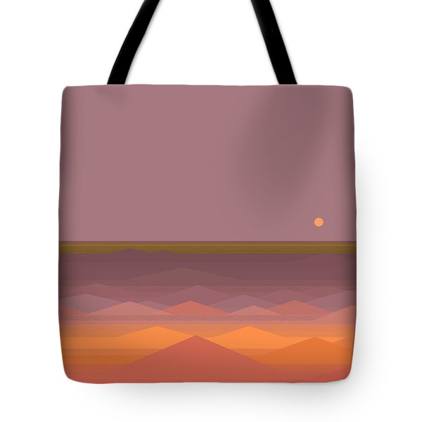 Tote Bag featuring the digital art South Sea Abstract by Val Arie