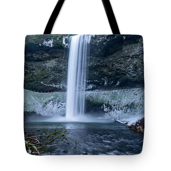 South Silver Falls Tote Bag