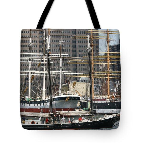 South Street Seaport Pioneer Tote Bag