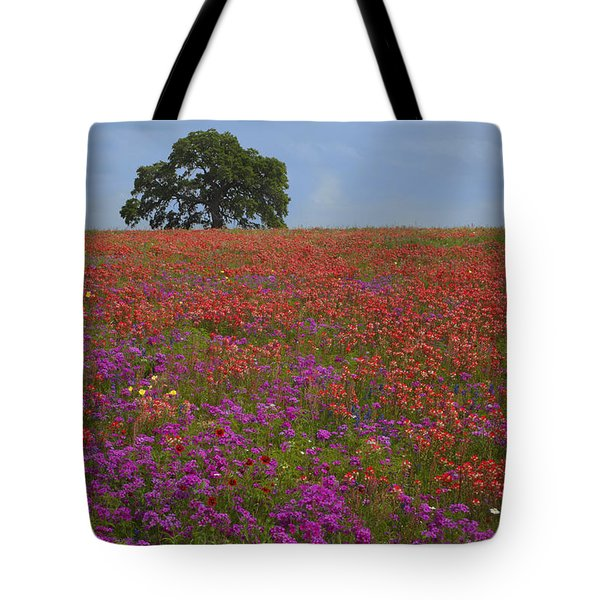 South Texas Bloom Tote Bag by Susan Rovira