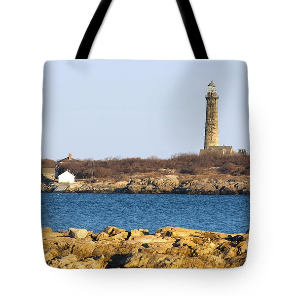 South Tower-thatcher Island Tote Bag