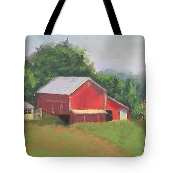 South View Of Meyer Farm Tote Bag by Terri  Meyer