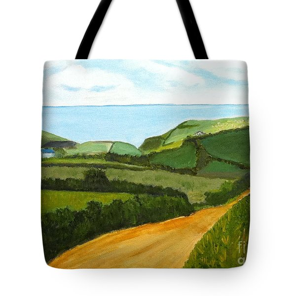 South West England Countryside Cotswold Area Tote Bag