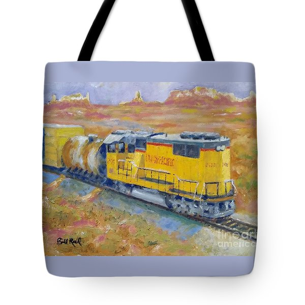South West Union Pacific Tote Bag