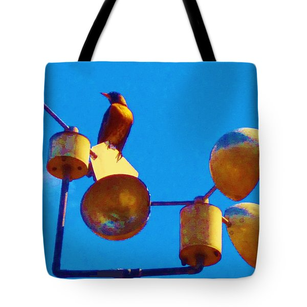 South Wind Tote Bag by Cathy Long