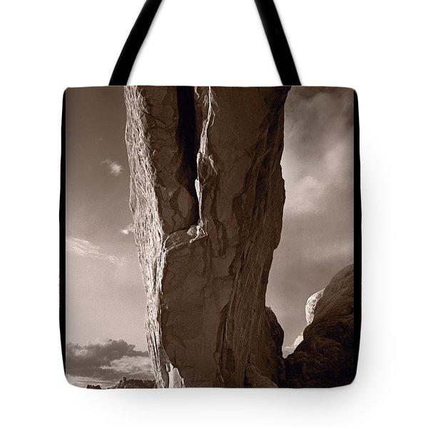South Window Arch Arches National Park Tote Bag by Steve Gadomski