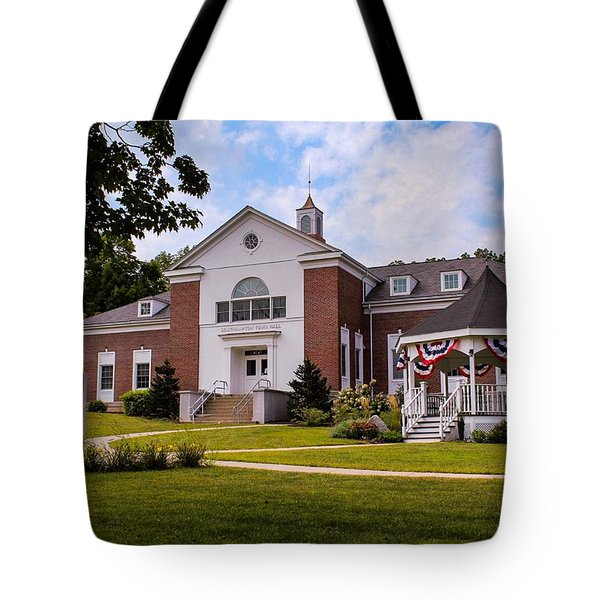 Southampton, Ma Town Hall Tote Bag