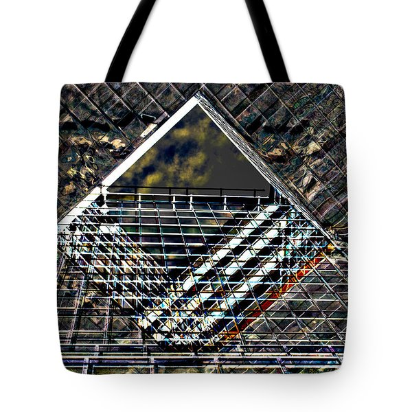 Southbank London Abstract Tote Bag