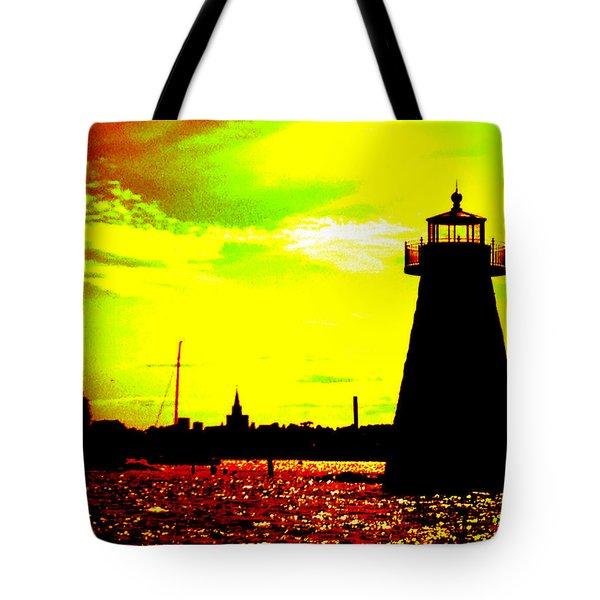 Southcoast Silhouette  Tote Bag