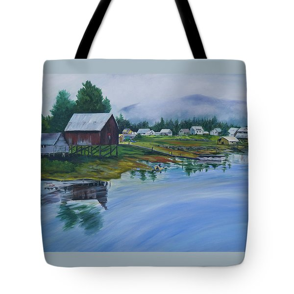 Southeast Alaska Tote Bag