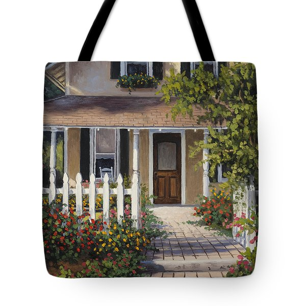 Tote Bag featuring the painting Southern Appeal by Kyle Wood
