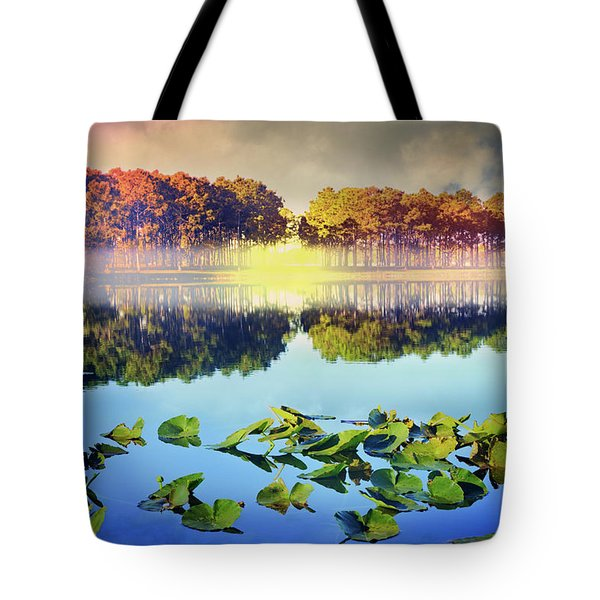 Tote Bag featuring the photograph Southern Beauty by Debra and Dave Vanderlaan