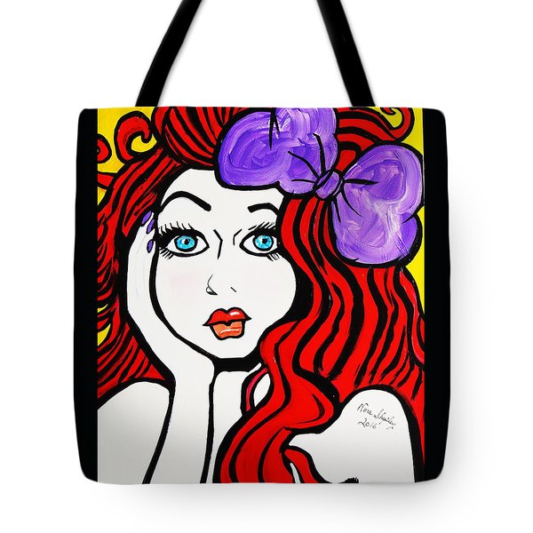 Sharlene   Southern Bell Tote Bag by Nora Shepley