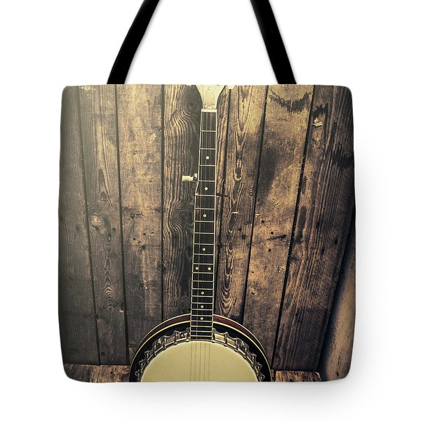 Southern Bluegrass Music Tote Bag
