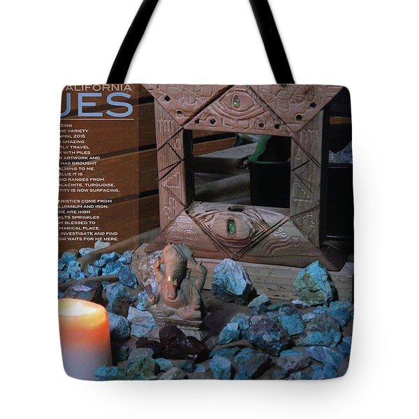 Southern California Blues Tote Bag