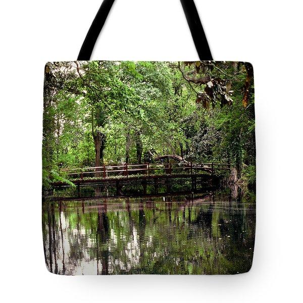 Plantation Living Tote Bag