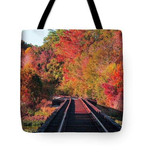 Southern Fall Tote Bag