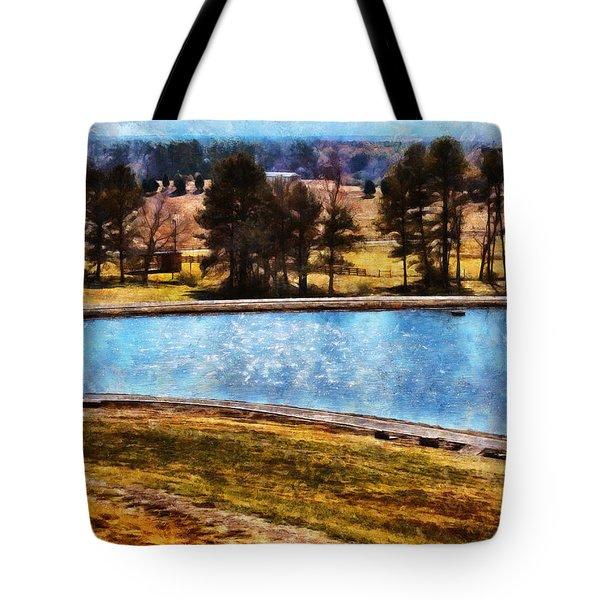 Southern Farmlands Tote Bag