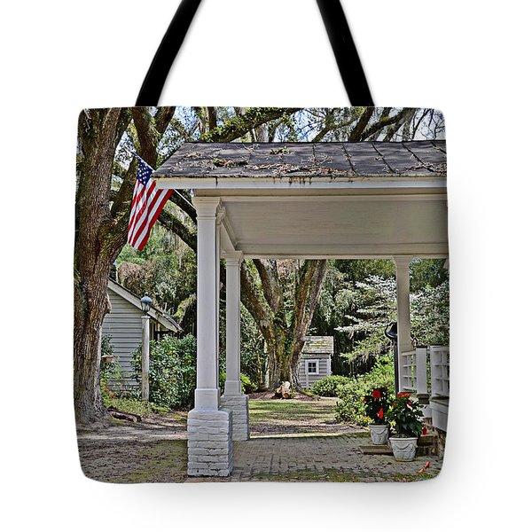 Southern Glory Tote Bag by Linda Brown