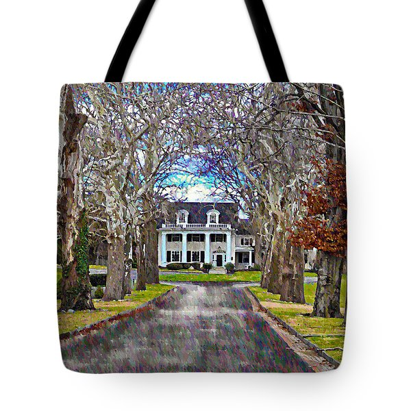 Southern Gothic Tote Bag by Bill Cannon