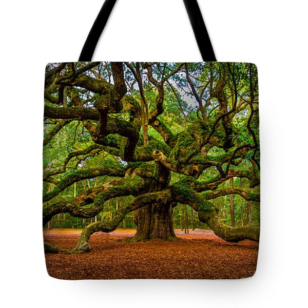 Angel Oak In Charleston Tote Bag