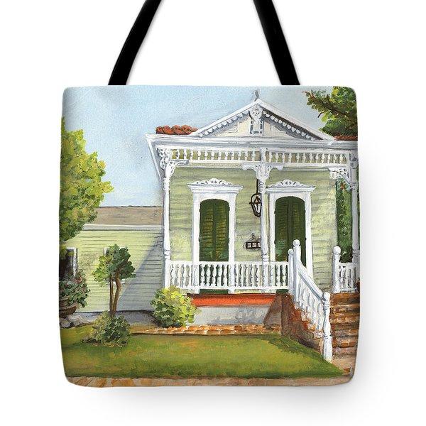 Southern Louisiana Charm Tote Bag by Elaine Hodges