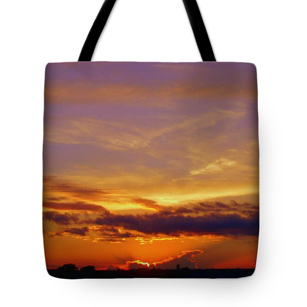 Southern Sunset Tote Bag