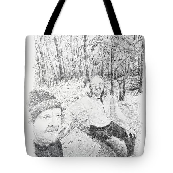 Southern Terminus  Tote Bag by Daniel Reed