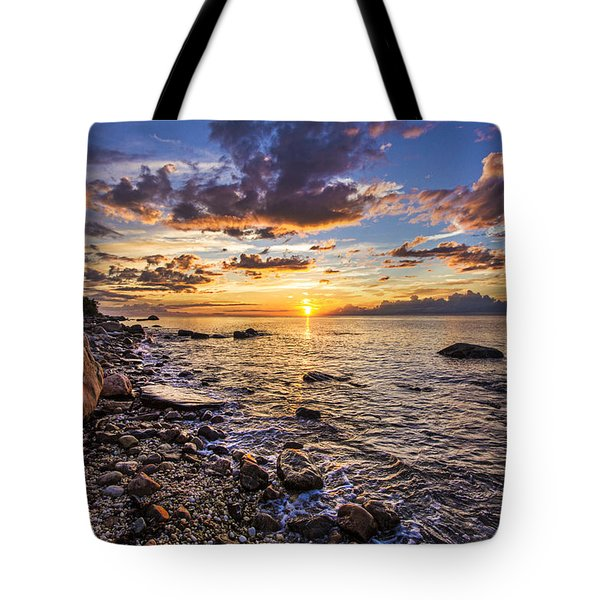 Southold Sunset Tote Bag