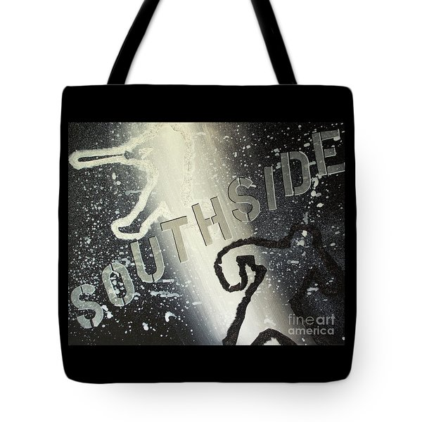 Tote Bag featuring the painting Southside Sox by Melissa Goodrich