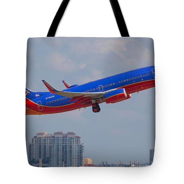 Southwest Airlines Tote Bag