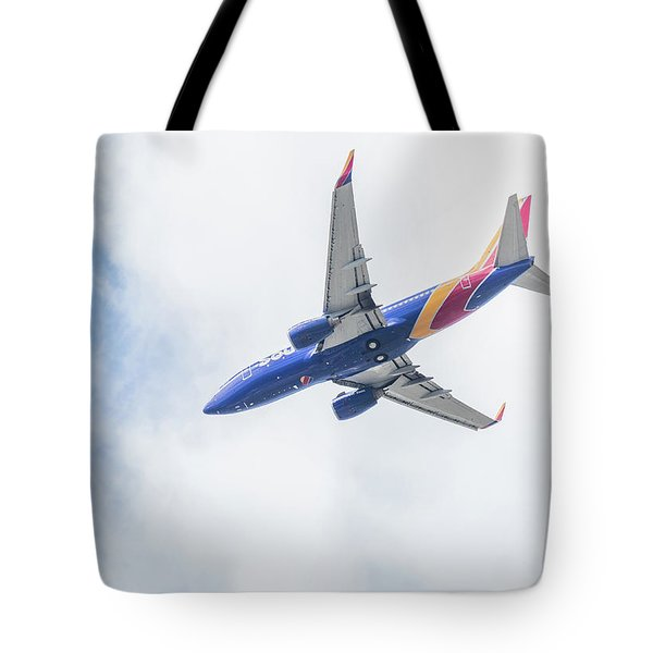 Southwest Airlines With A Heart Tote Bag