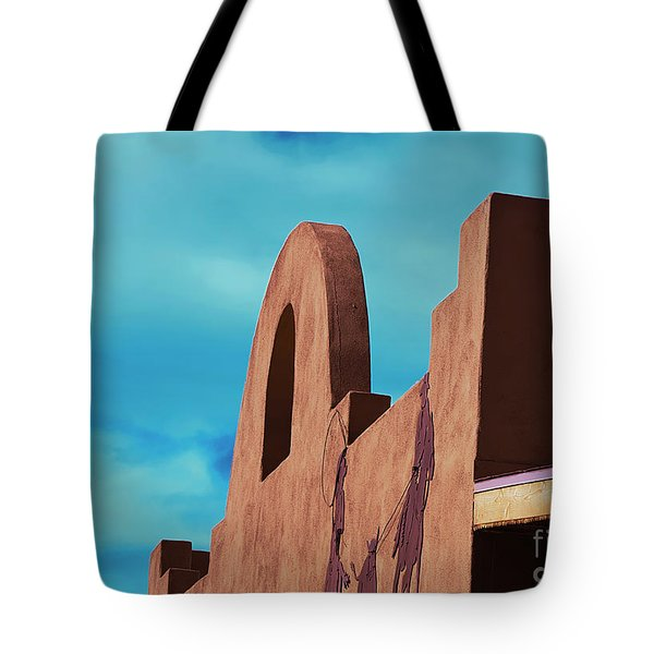 Southwest Architecture Tote Bag by Anne Rodkin