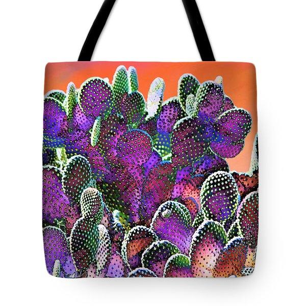 Southwest Desert Cactus Tote Bag
